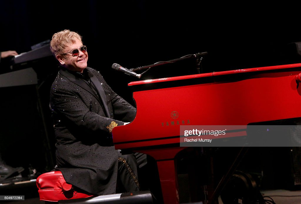 "Elton John Performs And Answers Questions From Fans During SiriusXM's ""Town Hall with Elton John"" At The Wiltern In Los Angeles Celebrating The Upcoming Release Of His New Album ""Wonderful Crazy Night"""