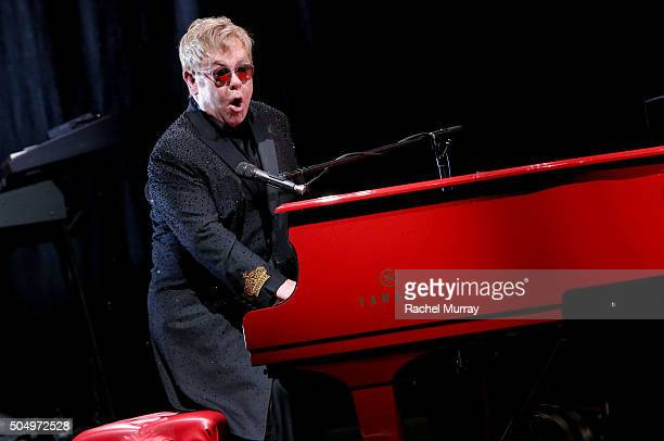 Elton John performed songs from his new album Wonderful Crazy Night out February 5 during SiriusXMÕs ÒTown Hall with Elton JohnÓ