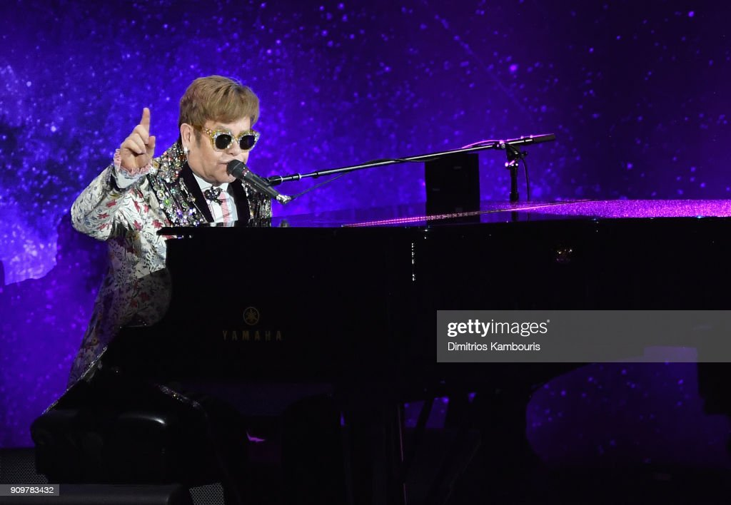Elton John Special Announcement : News Photo