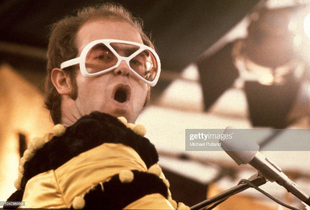 Elton John At Watford : News Photo