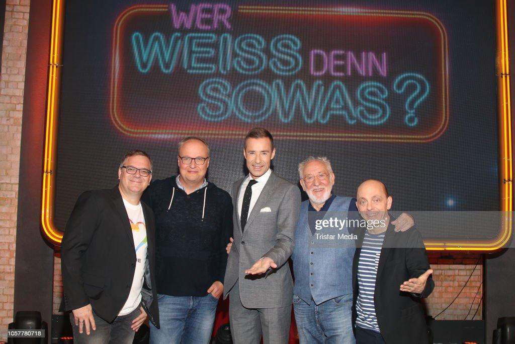 Elton Oliver Welke Kai Pflaume Dieter Hallervorden And