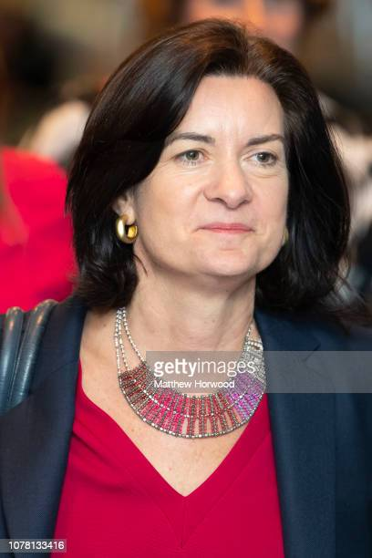 Eluned Morgan at the Principality Stadium on December 06 2018 in Cardiff Wales Mark Drakeford has won a leadership contest against Vaughan Gething...