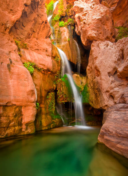Elves Chasm waterfall, Grand Canyon National Park