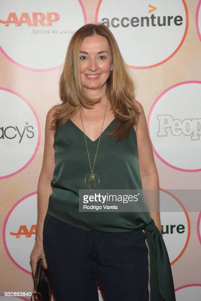 Elvi Cano arrives at the People en Espanol's 25 Most Powerful Women Luncheon 2018 on March 16 2018 in Miami Florida