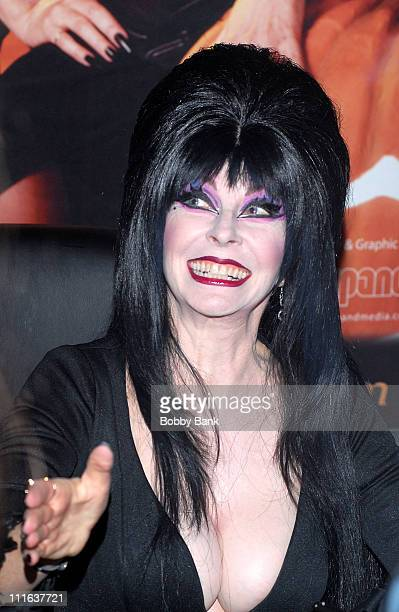 Elvira attending the 2007 Chiller Theatre Convention at the Hilton Hotel on October 5, 2007 in Parsippany, New Jersey.