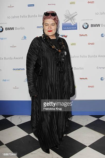 Elvira Bach at the 10th Anniversary Of The Felix Burda Award at Hotel Adlon in Berlin