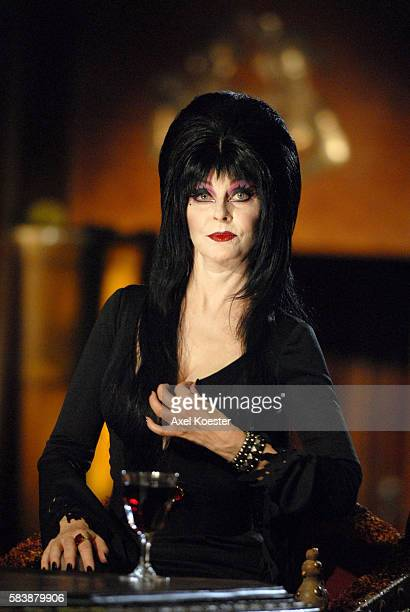 Elvira Mistress of the Dark hosts and judges an open Casket Call for the FOX Reality original series The Search for the Next Elvira at the Queen Mary...