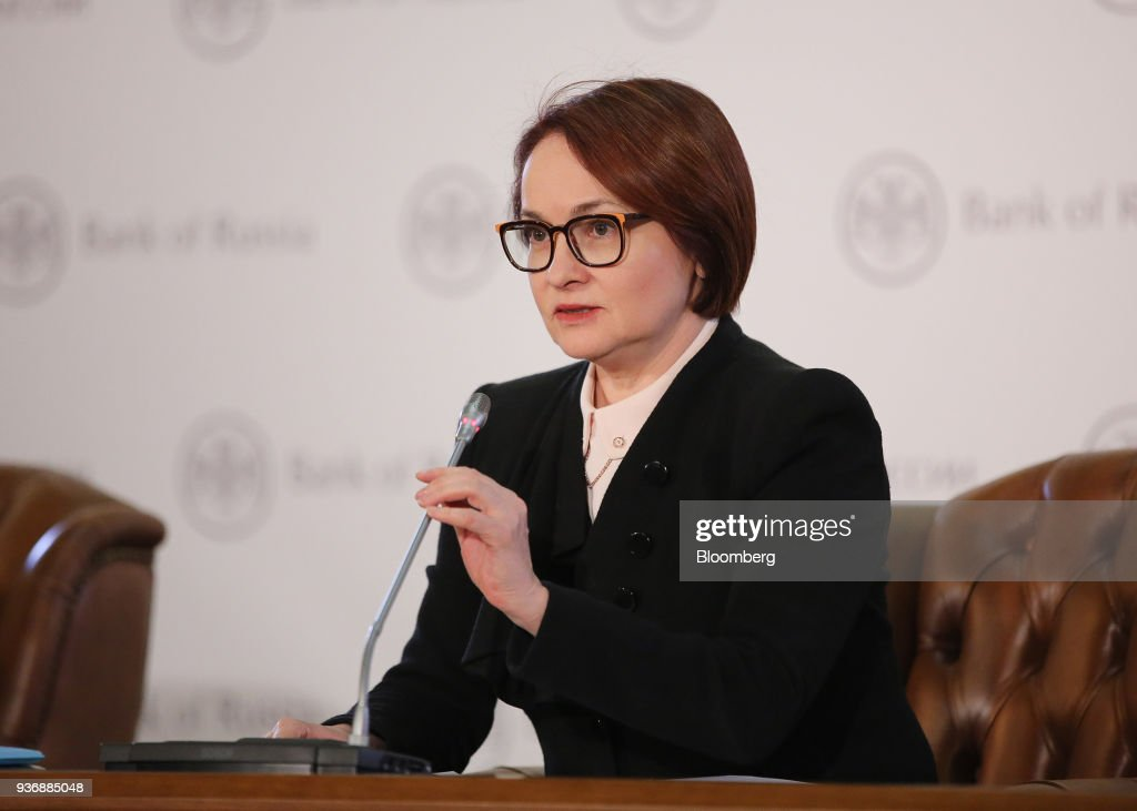Russia Central Bank Governor Elvira Nabiullina Interest Rate Announcement
