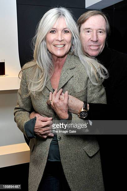 Elvira Netzer and Guenter Netzer attend the IWC Schaffhausen Race Night event during the Salon International de la Haute Horlogerie 2013 at Palexpo...