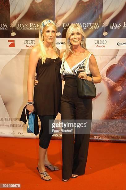 Elvira Netzer Tochter Alana Premiere vom Kinofilm 'Das Parfum Die Geschichte eines Mörders' München Bayern Deutschland Europa Roter Teppich Film...