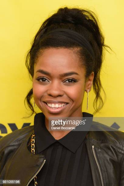Elvire Emanuelle attends the red carpet premiere of First Match during SXSW on March 12 2018 in Austin Texas