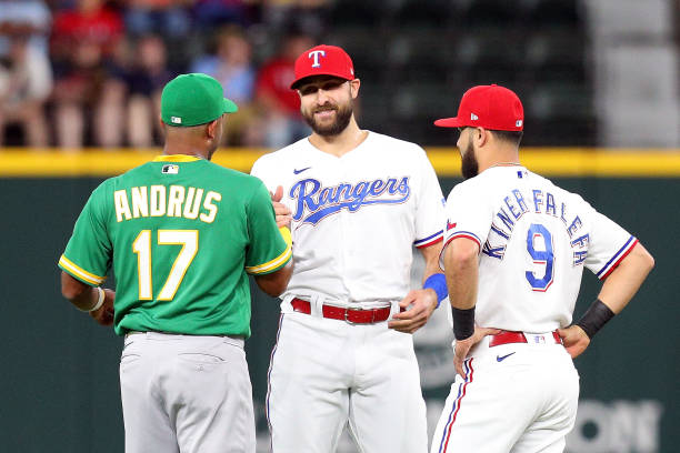 TX: Oakland Athletics v Texas Rangers