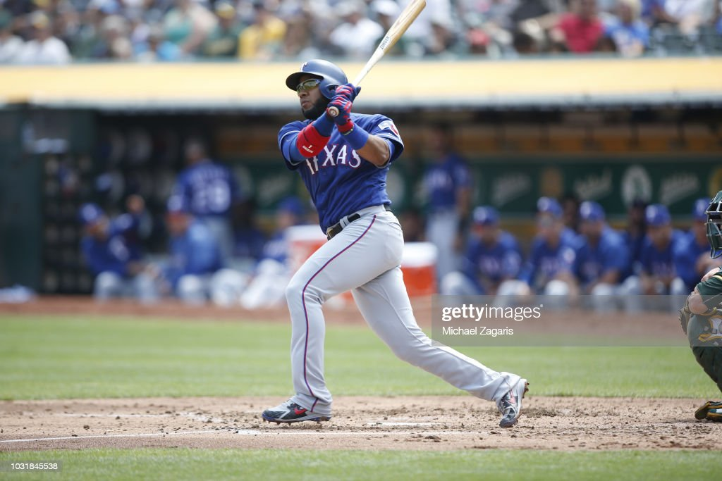 Texas Rangers v Oakland Athletics : News Photo