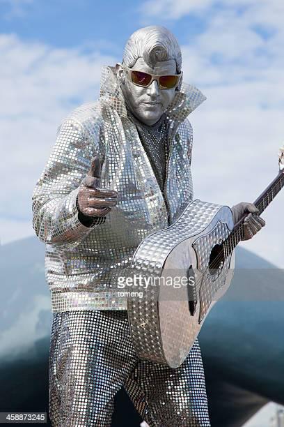 Elvis Busker Performance