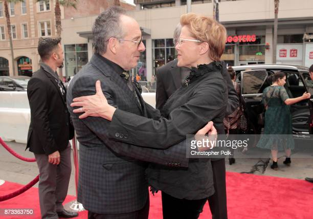 """Elvis Costello and Annette Bening attend the screening of """"Film Stars Don't Die In Liverpool"""" at AFI FEST 2017 Presented By Audi at TCL Chinese..."""