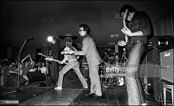 Elvis Costello and the Attractions are joined by Nick Lowe and Martin Belmont for the encore of their show at the El Mocambo in Toronto Canada 6th...