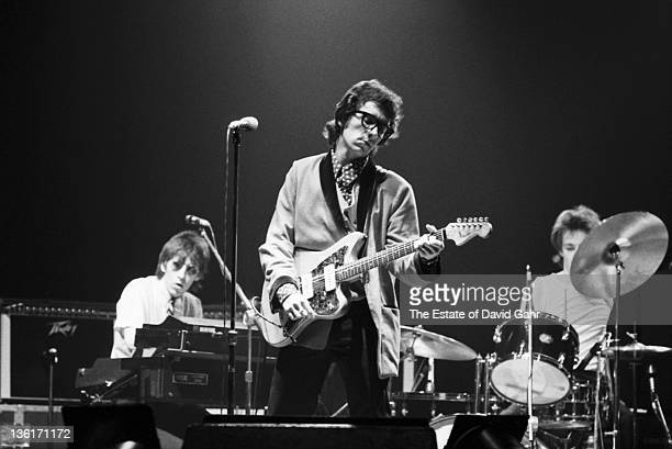 Elvis Costello and The Attractions perform on May 6 1978 at The Palladium in New York City New York