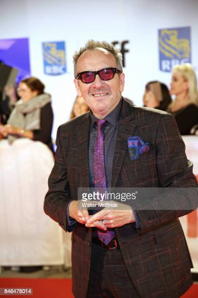 Elvis Costello attend the 'Film Stars Don't Die in Liverpool' premiere during the 2017 Toronto International Film Festival at Roy Thomson Hall on...