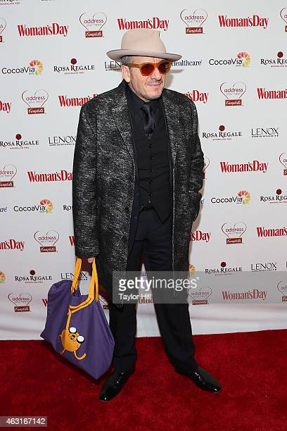 Elvis Costello attends the 12th Annual Woman's Day Red Dress Awards at 10 Columbus Circle on February 10 2015 in New York City