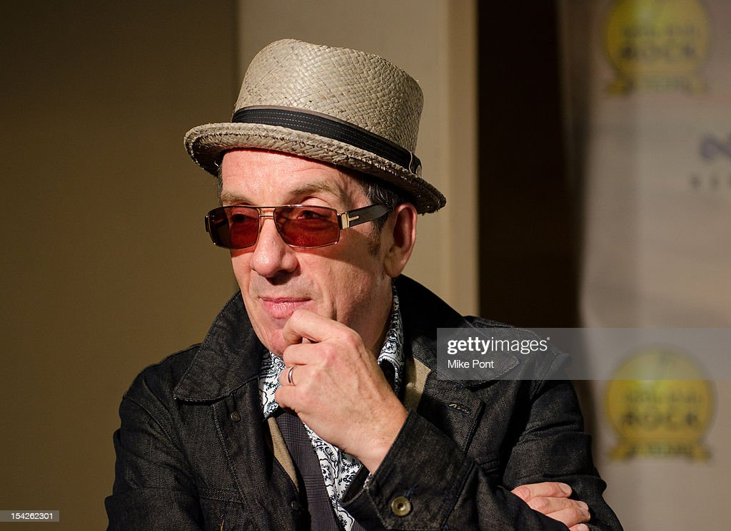 Elvis Costello attends The Little Kids Rock's 10th Anniversary Celebration at Manhattan Center Grand Ballroom on October 16, 2012 in New York City.