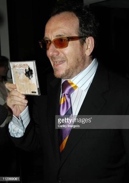 Elvis Costello during Riverkeeper Gala Honoring Viacom's Tom Freston at Pier 60 at Chelsea Piers in New York City, New York, United States.