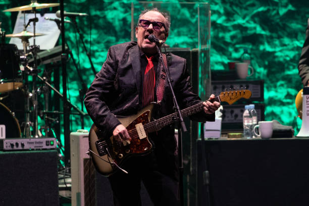 GBR: Elvis Costello And The Imposters Perform At Eventim Apollo, London