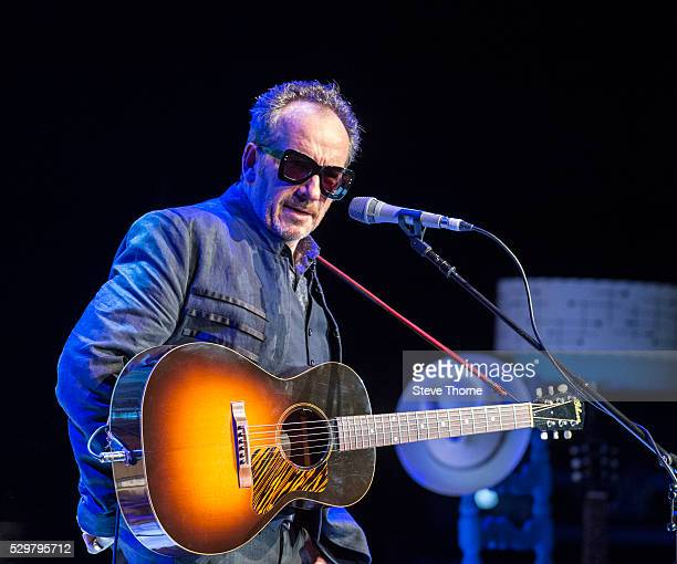 Elvis Costello performs at Warwick Arts Centre on May 9 2016 in Coventry England