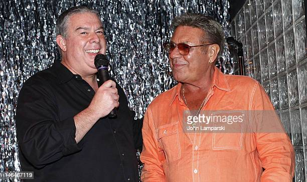 Elvis Duran and Uncle Johnny attends Alex Carr's birthday celebration>> at The Stonewall Inn on June 16 2012 in New York City