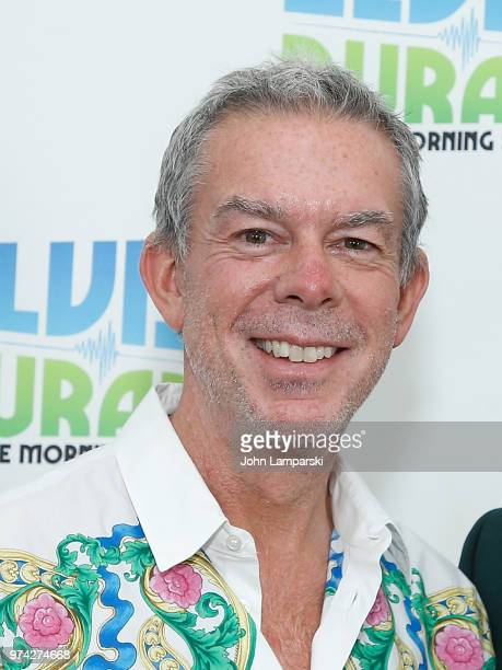 Elvis Duran attends as singer Cole Redding visits 'The Elvis Duran Z100 Morning Show' at Z100 Studio on June 14 2018 in New York City