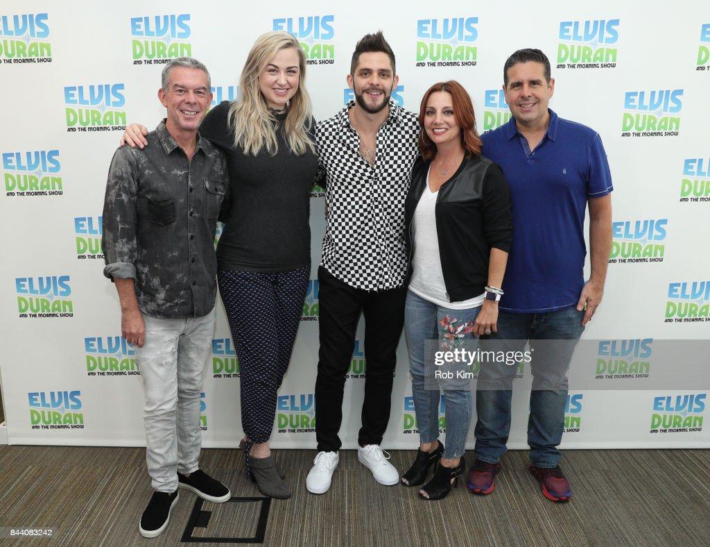 "Thomas Rhett Visits ""The Elvis Duran Z100 Morning Show"" : News Photo"