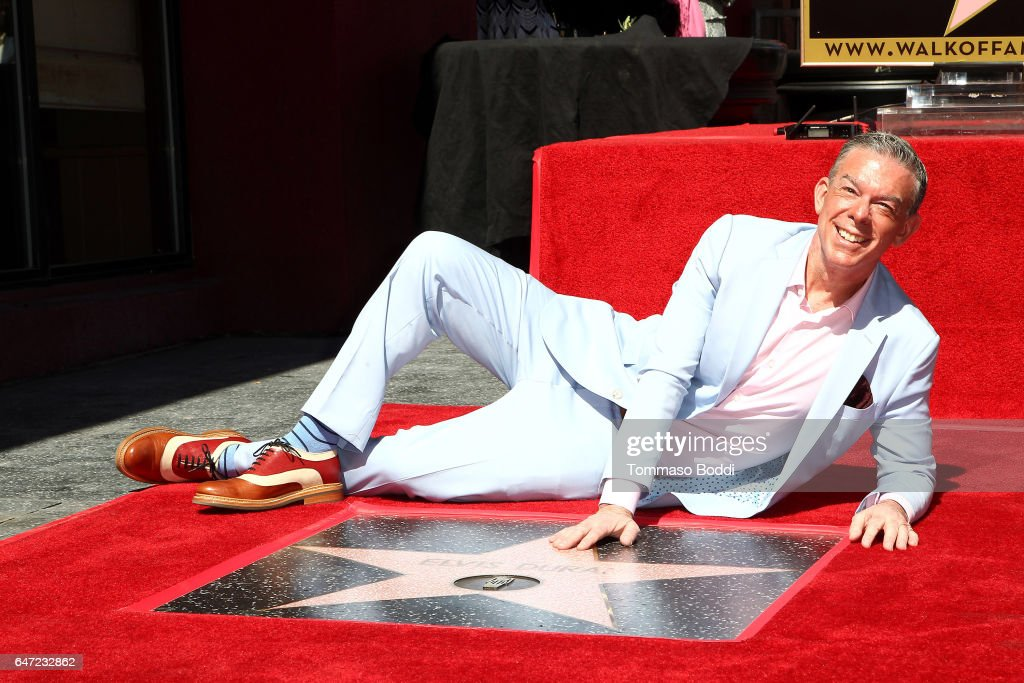 Elvis Duran Honored With Star On The Hollywood Walk Of Fame