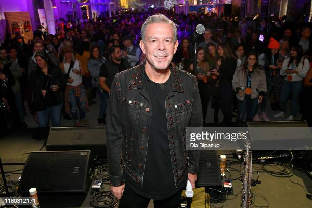 Elvis Duran poses onstage during Elvis Duran's Taste of New York presented by Intrinsic Wines hosted by Elvis Duran and the Z100 Morning Show at Food...