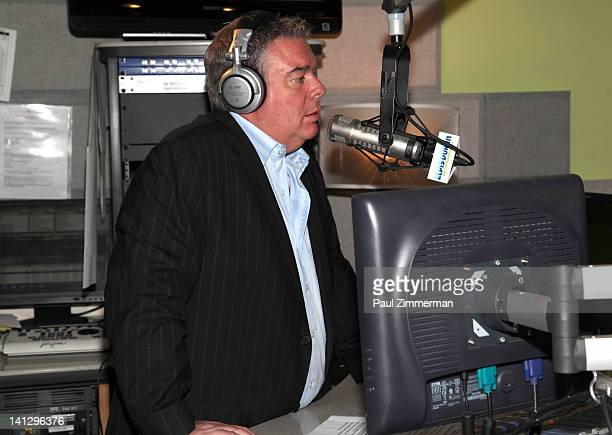 Elvis Duran The Elvis Duran Z100 Morning Show at Z100 Studio on March 14 2012 in New York City