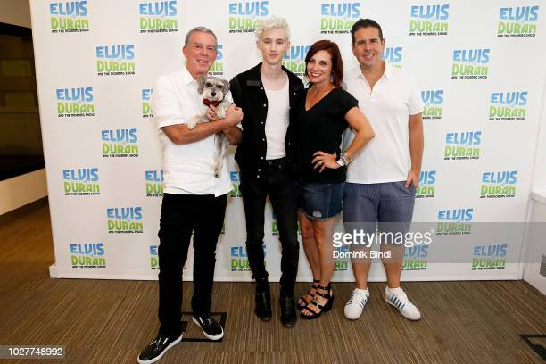 Elvis Duran Troy Sivane Danielle Monaro and Skeery Jones pose at 'The Elvis Duran Z100 Morning Show' at 'The Elvis Duran Z100 Morning Show' at Z100...