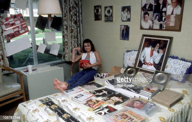 Elvis Fanfest during Elvis Fanfest '86 August 16 1986 at Memphis Tennessee in Memphis Tennessee United States