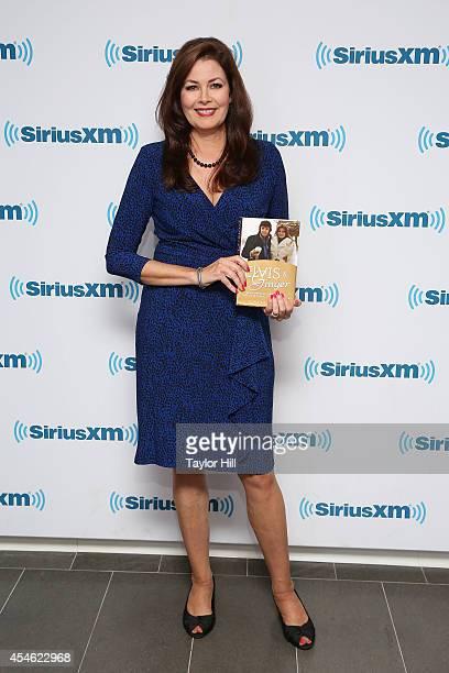 Elvis' former fiancee Ginger Alden visits the SiriusXM Studios on September 4 2014 in New York City