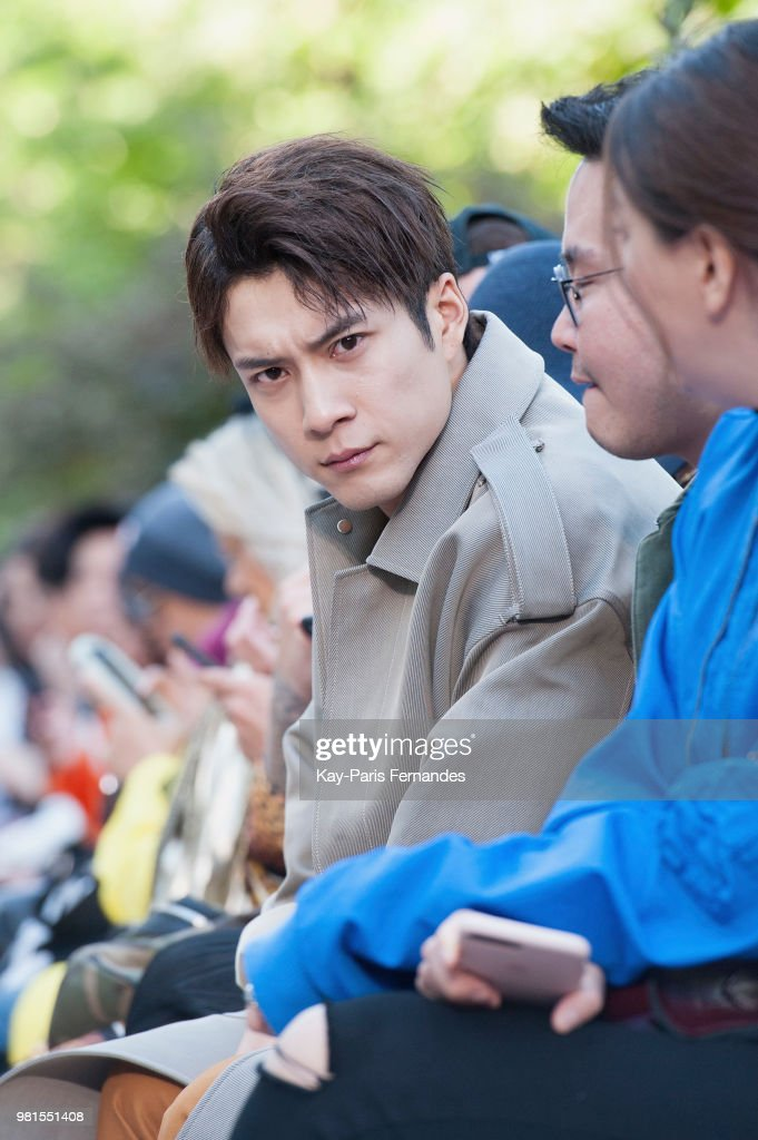 Sean Suen: Front Row - Paris Fashion Week - Menswear Spring/Summer 2019