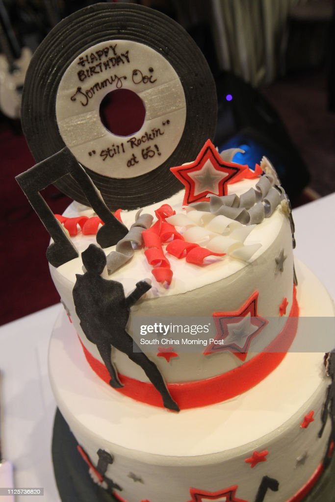 Miraculous Elvis Images Adorn A 65Th Birthday Cake For Organiser Tommy Ooi Funny Birthday Cards Online Alyptdamsfinfo