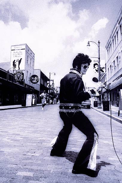 Elvis impersonator, Beale Street, Memphis, TN