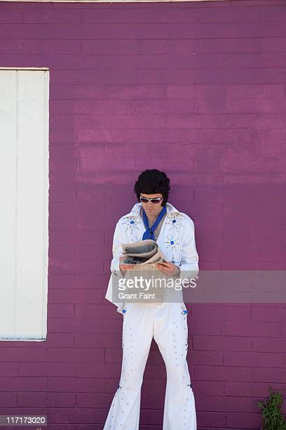 Elvis impersonator.