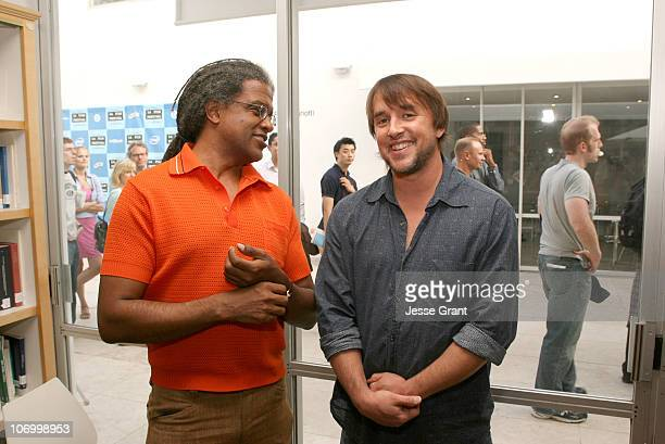 Elvis Mitchell and Richard Linklater during 2006 Los Angeles Film Festival Festival Talks Conversation with Richard Linklater at Italian Cultural...
