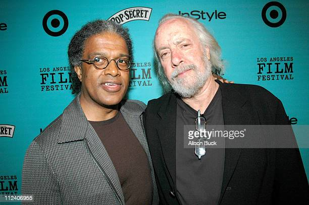 Elvis Mitchell and Robert Towne during 2005 Los Angeles Film Festival Robert Towne's LA Screening at Directors Guild of America in Los Angeles...