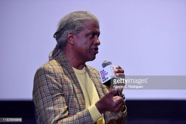 Elvis Mitchell attends Film Independent Presents 16 Shots special screening and QA at ArcLight Hollywood on May 29 2019 in Hollywood California