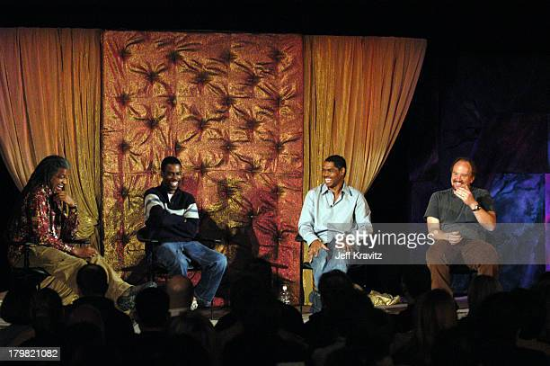 Elvis Mitchell Chris Rock Lance Crouther and Louis CK *Exclusive*