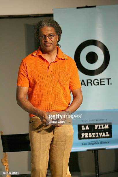 Elvis Mitchell during 2006 Los Angeles Film Festival Festival Talks Conversation with Richard Linklater at Italian Cultural Center in Westwood CA...