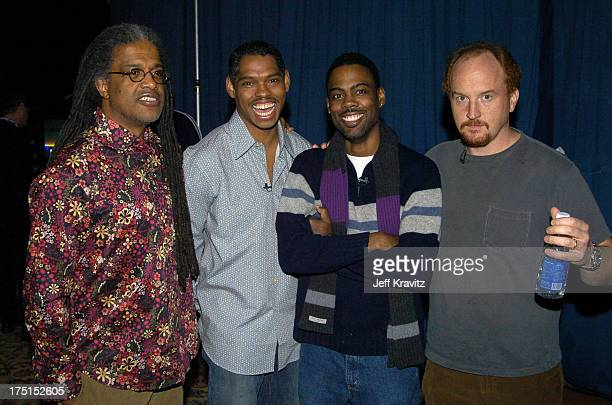 Elvis Mitchell Lance Crouther Chris Rock and Louis CK *Exclusive*