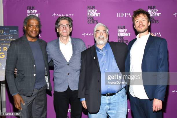 Elvis Mitchell Marc Porat Michael Stern and Matt Maude at the Film Independent presents special screening of General Magic at ArcLight Hollywood on...