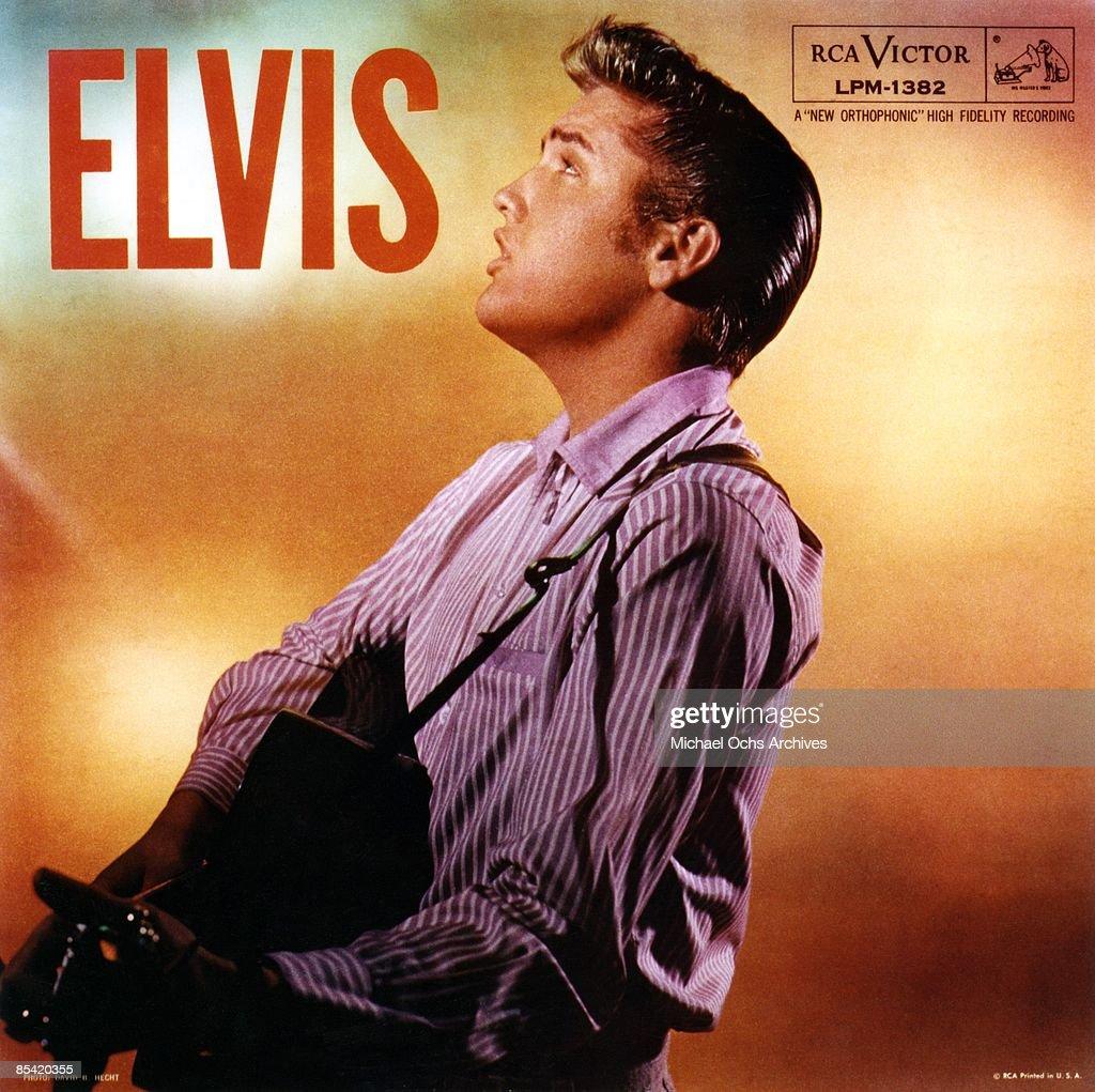 Elvis Presley Album Cover : News Photo