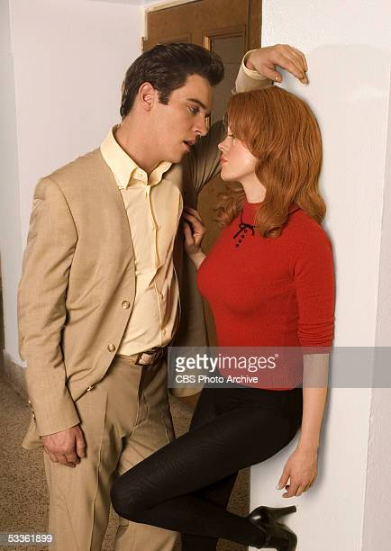 Elvis Presley and his girlfriend AnnMargret in ELVIS a fourhour miniseries which will be broadcast as the 'CBS Sunday Movie' Sunday May 8 and...