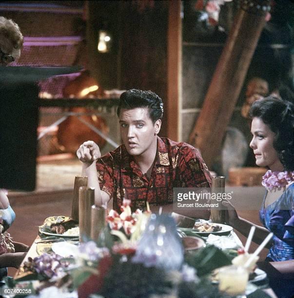 Elvis Presley and Joan Blackman in Blue Hawaii